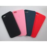 Capa Case Silicone Apple Iphone 5/5s/5c/se/6/6s/6 Plus Cores