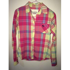 Camisa De Dama Marca Abercrombie & Fitch Nueva T-s