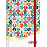 Caderneta Anotação 95x140mm P 80 Folhas Coca Cola Trends C