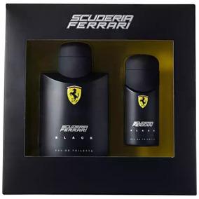 Perfume Ferrari Black Kit 125ml + 30ml - Original Com Selo