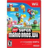Juego Nintendo Wii New Super Mario Bros - Refurbished Fisico