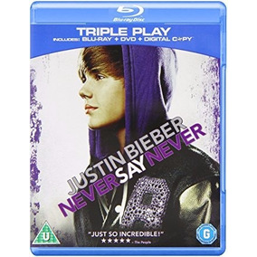 Justin Bieber Never Say Never Bluray + Dvd Nuevo Importado