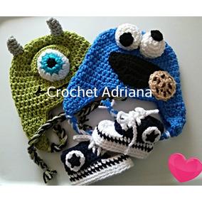 Gorros Bebés Rilakuma Jirafa Pinguino Come Galletas Crochet