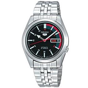 Relógio Seiko 5 Automático 21 Jewels Snk375b1 + Frete