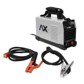 Inversora Portátil Axt202abv Ax+careta+cables+envio Gratis