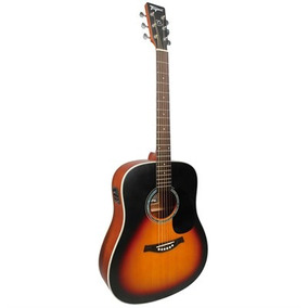 Violão Tagima Folk Acoustic Woodstock Sunburst Tw-25 Ds