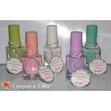 Esmaltes De Uñas Souvenirs Baby Shower Cumpleaños 15 Años
