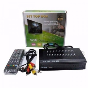 Set Top Box Receptor Tv Digital Multimídia Com Gravador