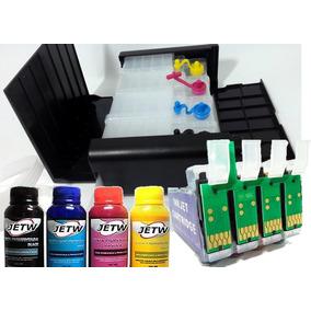 Bulk-ink Deluxe Cx5000 Cx6000 Cx7000f Cx7400 Cx8400 + Tinta
