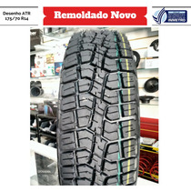 Pneu 175/70 R14 Atr Remold Desenho Pirelli Scorpion