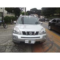Nissan X- Trail 2009 Prata Automática Único Dono Bom Estado