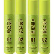 2 Kit Semi Definitiva Quiabo Orgãnica 100% Liso