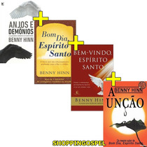 Kit Benny Hinn Com 4 Livros A Unção Bom Dia Espírito Santo E