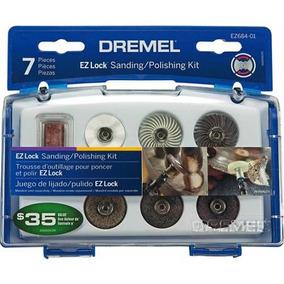 Dremel Accesorio-kit Para Pulir Ez-lock 7pz E 684