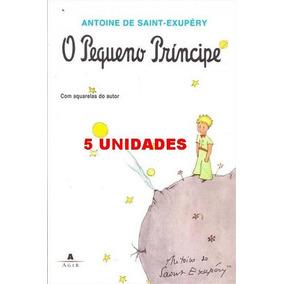 Kit 5 Livros O Pequeno Príncipe - Antoine De Saint-exupéry