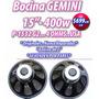 Bocina 15 Pulgadas Gemini Profesional Potencia Para Bafles