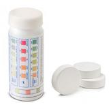 Kit 5 Pedras De Cloro + Fita Teste Cloro/ Ph /alcalinidade