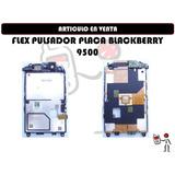 Flex Pulsador Placa Blackberry 9500 Nuevo Somos Tienda