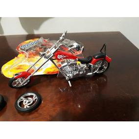 Moto Miniatura Harley Davidson Bl Antiguidades