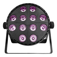 Cañon Par 12x10 Rgb + Led Uv Alienpro - S002