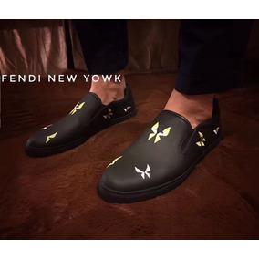 Mocasines Fendi - New Yowk Hombre Stock Limitado A Pedido