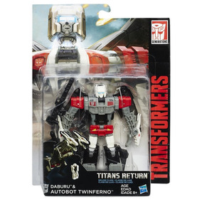Transformers Titan Wars Deluxe Autobot Twinferno