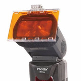 Gel Filtros Color Phottix P/ Flash Nikon Canon Yongnuo Sony