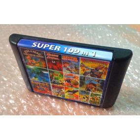 Cartucho De 109 Juegos De Sega No Repetidos Retro 16 Bits