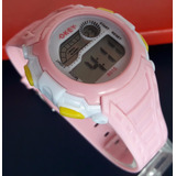 Reloj Mujer Rosa Clasico Diseño Y Calidad Res Agua 30 Mtrs
