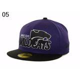 c2f5d28d80bbb Boné Aba Reta - Kansas Wildcats - Tamanho 6 3 8