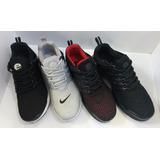Zapatos Deportivos Nike Air Presto Para Caballero,4 Diseños.