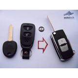 Carcasa Control Remoto Con Flip Para Hyundai Coupe Elantra