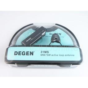 Antena Amplificada Degen De31 Ms ((( A Pronta Entrega ))))