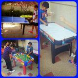 Mesas De Futbolito Ping Pong Hockey Canchas Nerf Recreacion