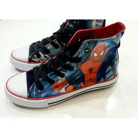 Zapatillas Botitas Spiderman Hombre Araña Atomik