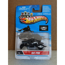 Bat-pod Boneco Com Moto Do Batman - Hot Wheels 1:64 Lacrado