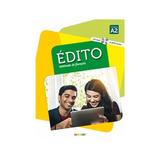 Edito A2 Livre + Cd Mp3 + Dvd - 3º Ed
