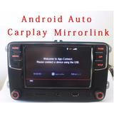 Vw Jetta Polo Vento Golf Tiguan Rcd330 Android Auto Car Play