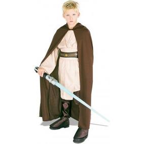 Traje De Niño Con Traje De Túnica Jedi Con Capucha Clásica