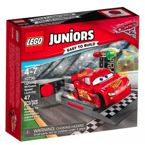 Lego Juniors Cars 3 10730 Lightning Mcqueen Speed Launcher