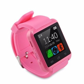Reloj Smartwatch U8 Pro Android O Iphone Bluetooth ... Rosa