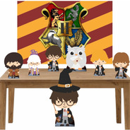 Harry Potter Kit Festa Totens Display Painel 100x70