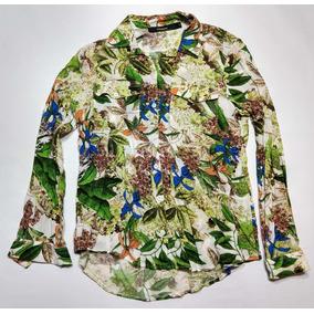Camisa Hawaiana Wupper Talle S Floreada