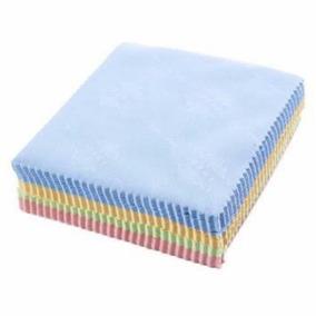 Caja Con 100 Paños De Microfibra Para Limpieza De Lentes