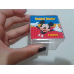 Caixinha Acrílica Mickey