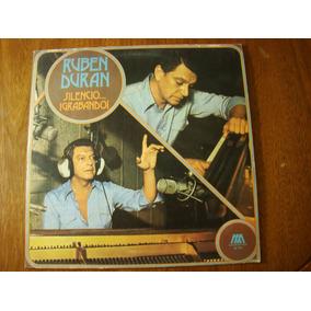 Ruben Duran Silencio Grabando 1977 Argentina Vinilo Lp Nm