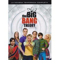 La Teoria Del Big Bang Temporada 9 Nueve Serie De Tv Dvd