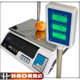 Balanza Digital Doble Visor Doble 40kg Bateria Memorias