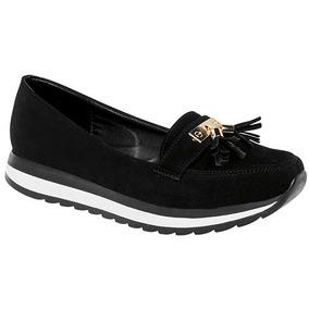 Zapato Casual Clasben Negro Para Dama 100% Originales U62937