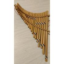 Flautas De Pan Pentatónicas,diatónicas,cromáticas.